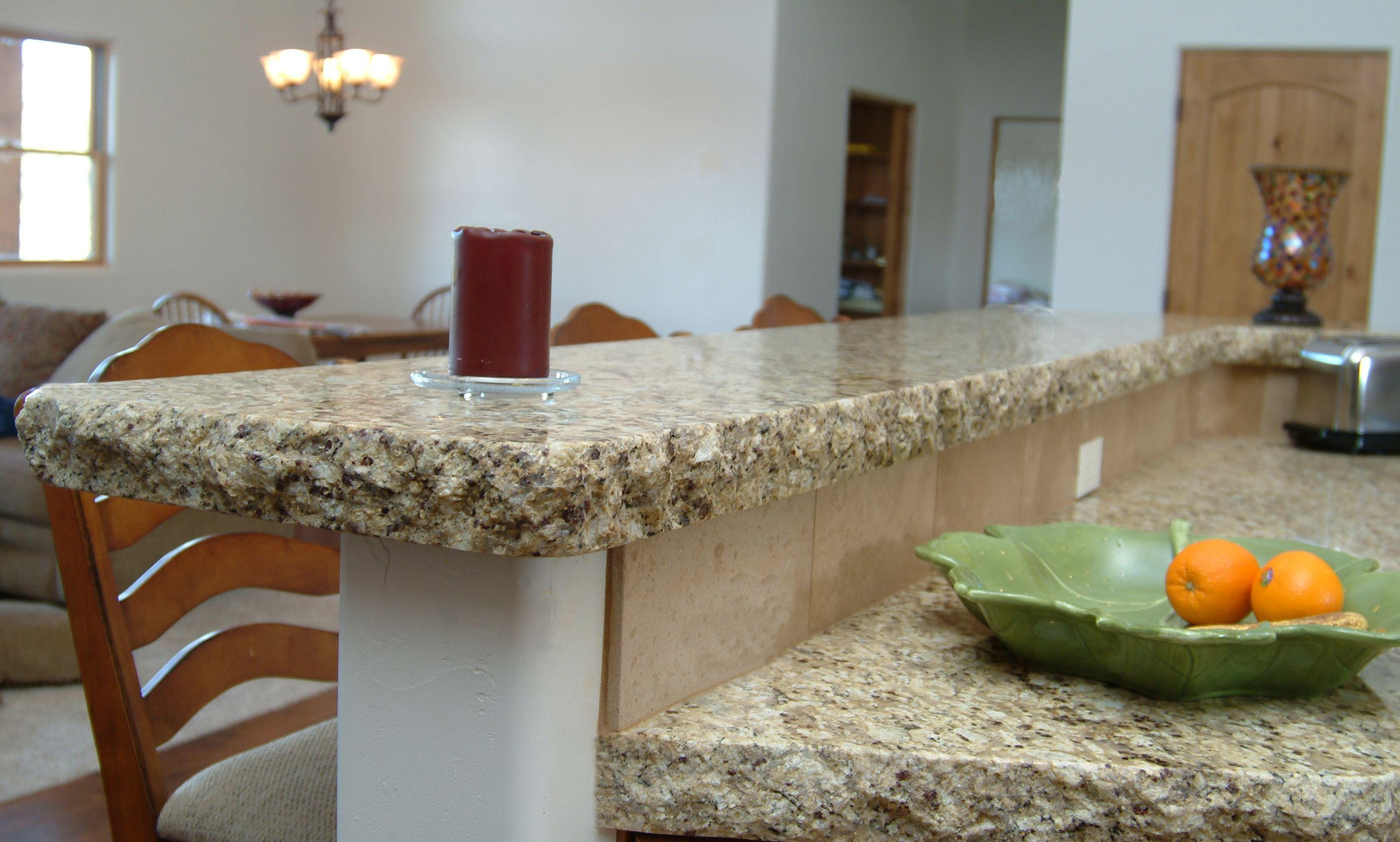 Granite Chiseled Edge Profile Countertop