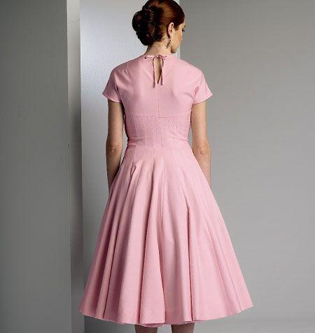 Etui kleid 50er jahre