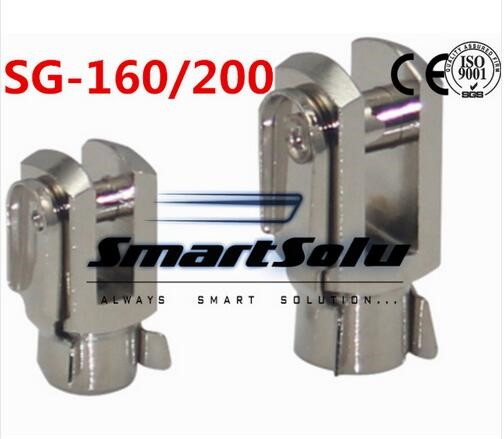 (262.78$)  Watch more here  - Free Shipping 5pcs/lots SG-160/200 ISO6431 cylinder attachment, Y type joint, U joints, Y
