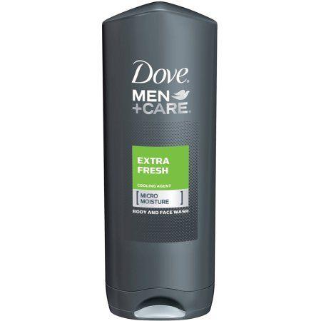 Dove Men Plus Care Body And Face Wash, Extra Fresh - 13.5 Oz, Multicolor
