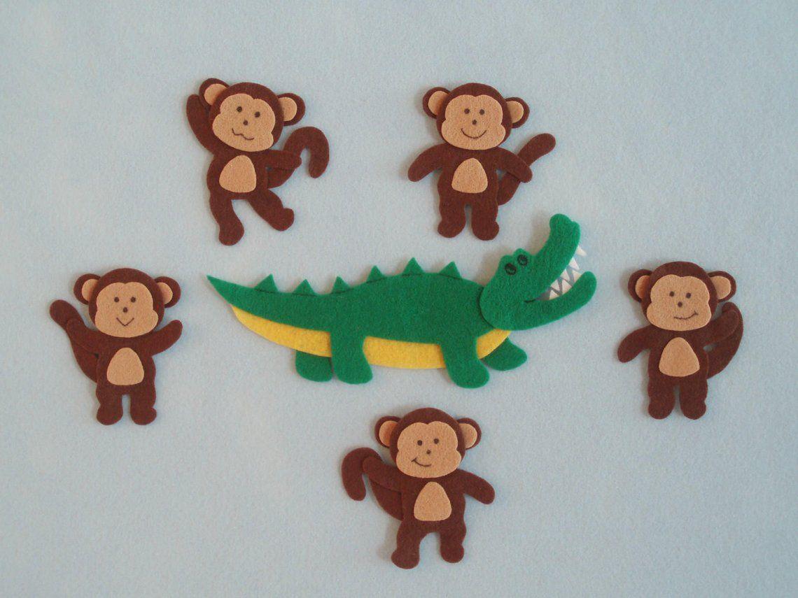 5 Little Monkeys Jumping on the Bed/Teasing Mr. Etsy