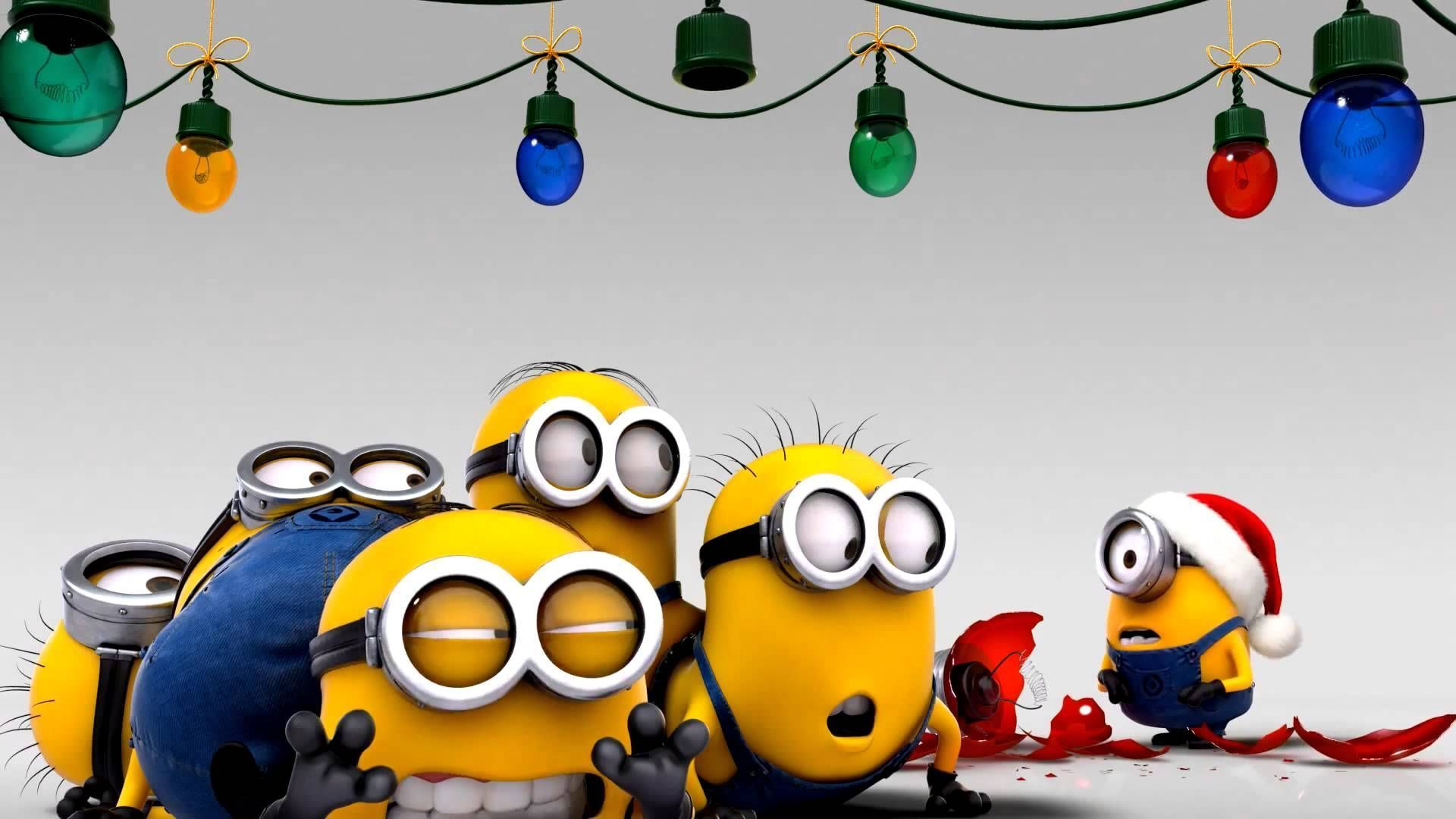 Christmas Minions Wallpapers Group | HD Wallpapers | Pinterest ...