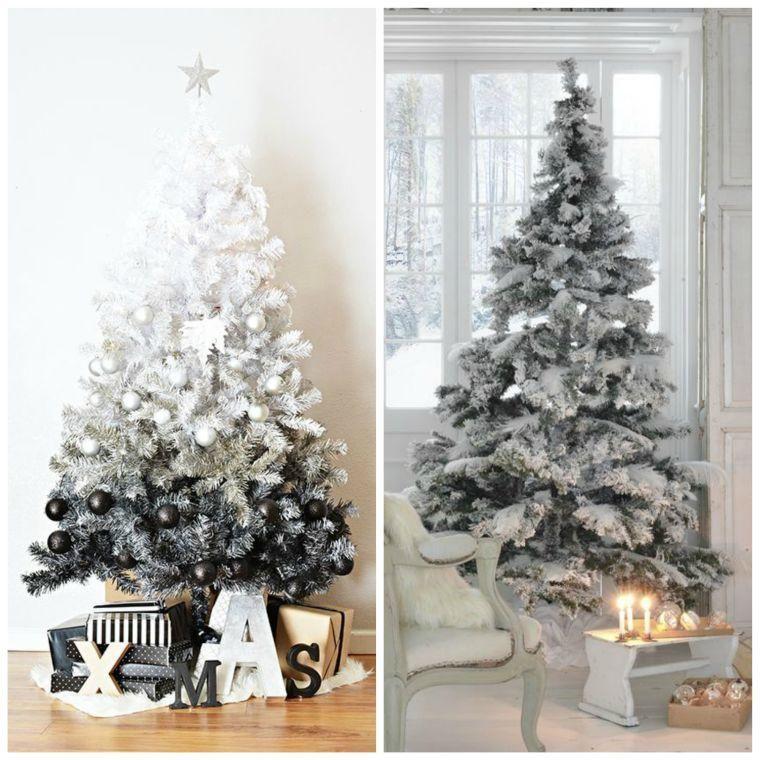 Déco Sapin Blanc - Nos Idées Pour Un Arbre De Noël Réussi | Natal