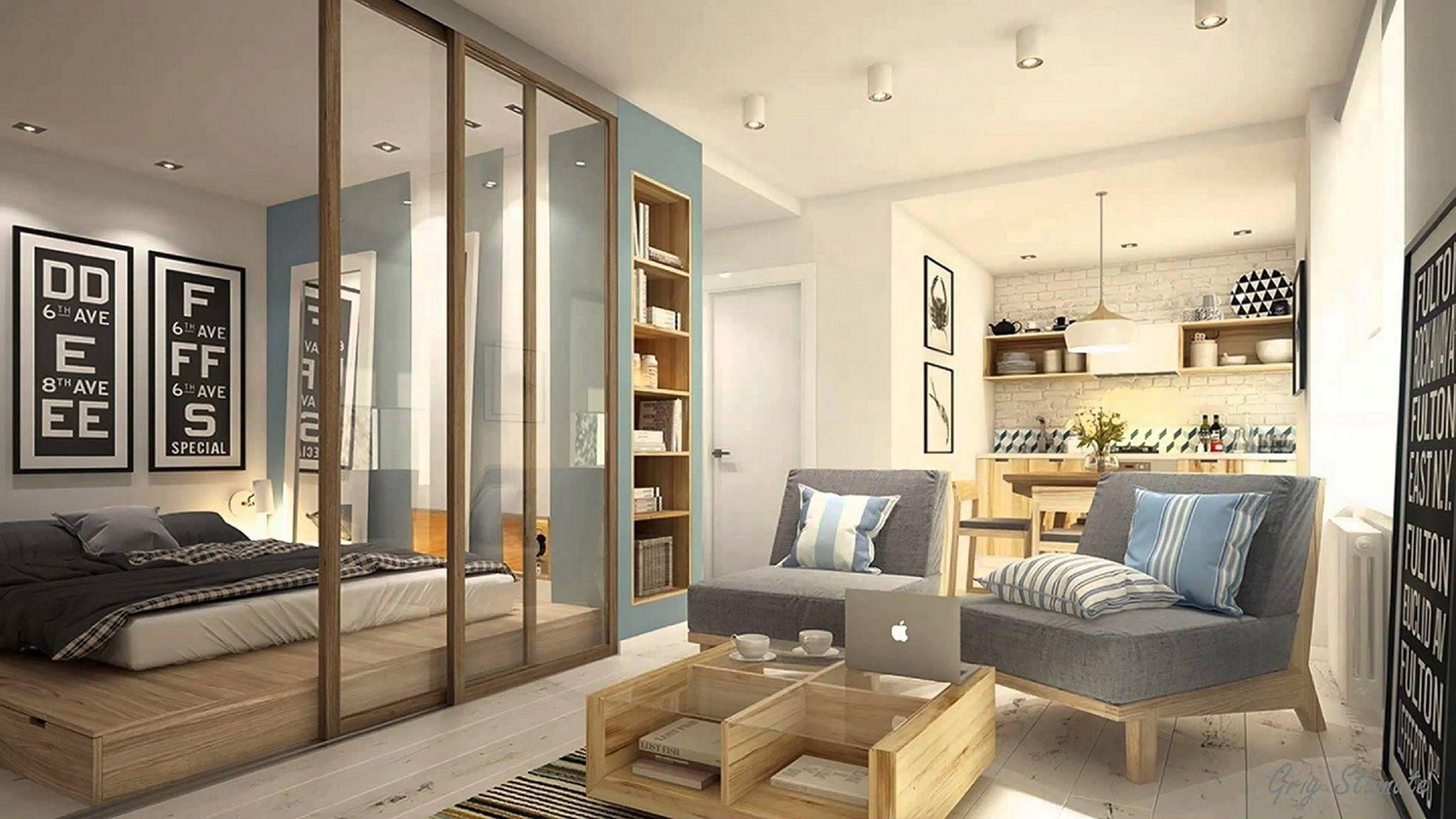 Awesome Small Studio Apartment Design