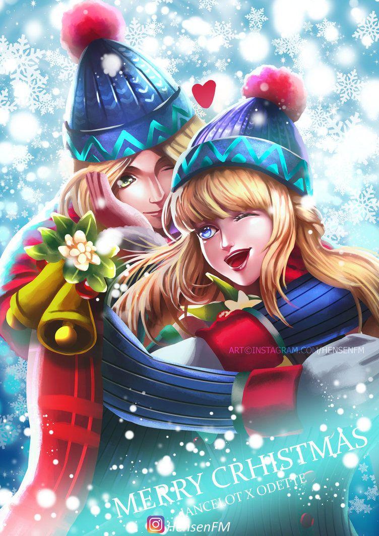 Alucard Child Of The Fall Wallpaper Lancelot Odette Christmas Mobile Legends Hensenfm By