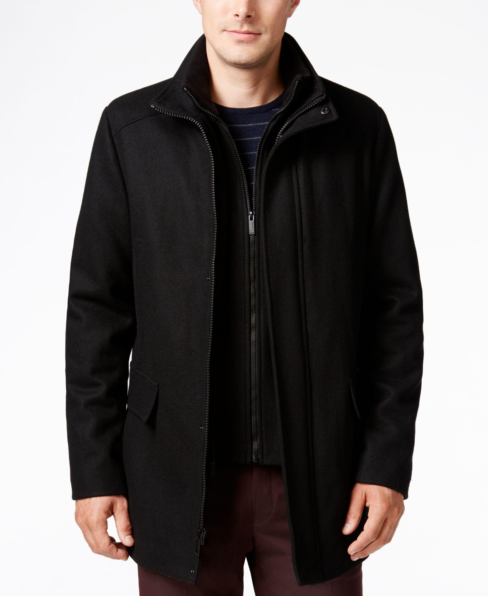 Car Coat Calvin Klein Men Car Coat Coat [ 2378 x 1947 Pixel ]
