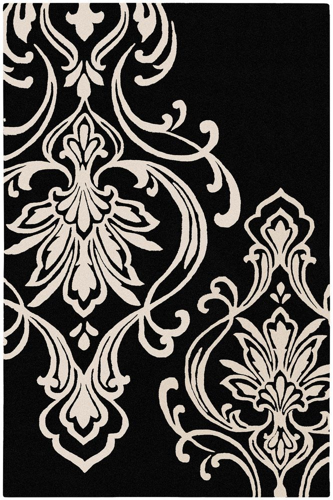 This Glam Surya Modern Classics Rug By Candice Olson Can 1951 Is Available In Many Color Ways Candice Olson Damask Rug Area Rugs Modern Rugs