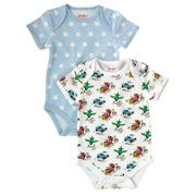 Transport Pack of 2 Baby Bodysuits