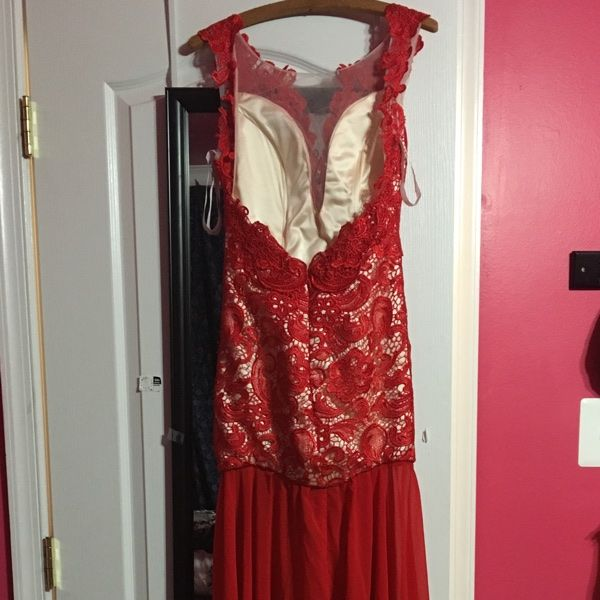 For Sale: Red lace prom dress for $35 | Secondhand Clothing ...