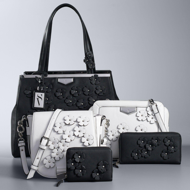 3f67820105da7e Simply Vera Vera Wang Flower Handbag Collection   Cosmetics ...