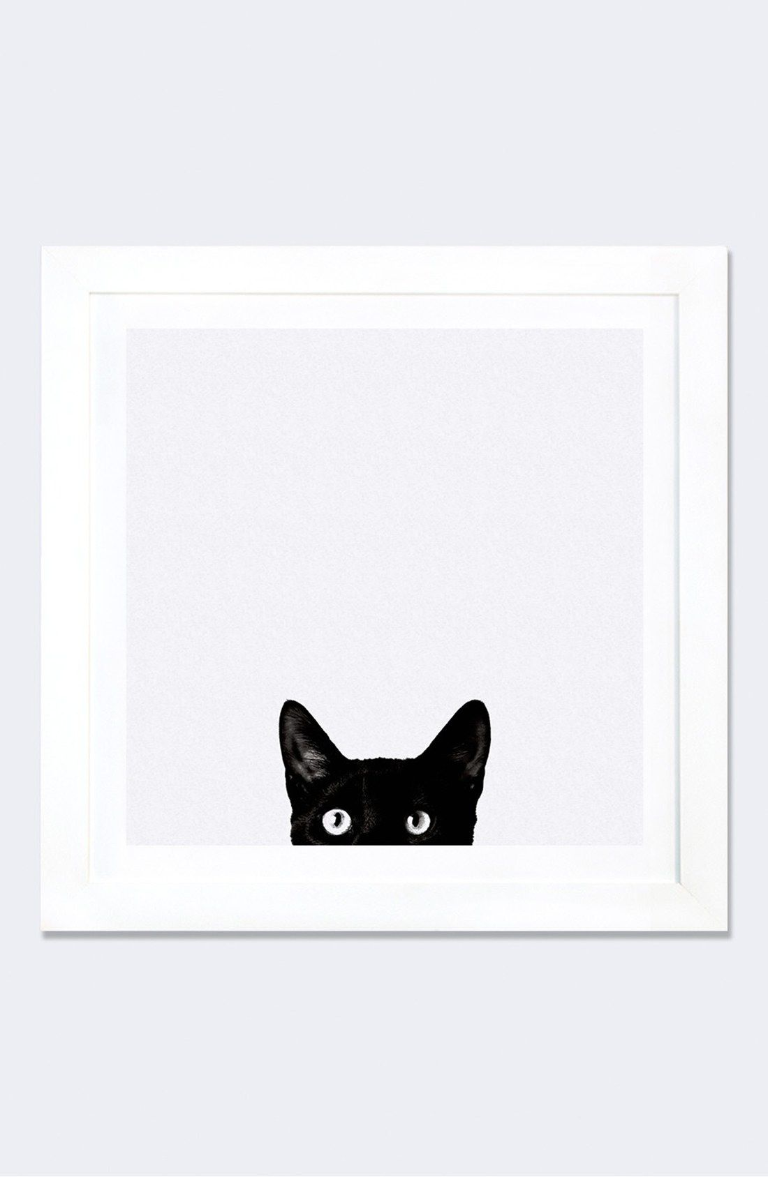 Because cats. :: \'Curiosity\' Framed Fine Art Print | Animals ...