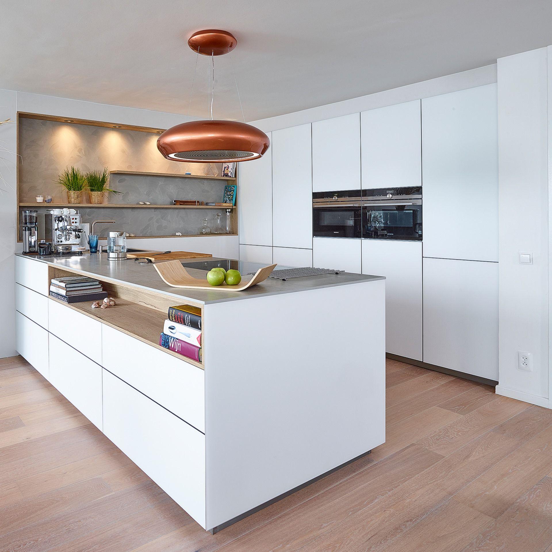 Contur Küche Cremona  Offene küche kochinsel, Moderne küche