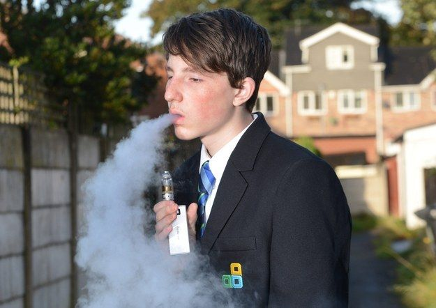 This Boy's Mother Complained To His School Because It Confiscated His E-Cigarette