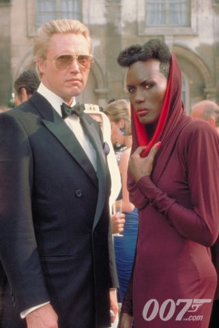 Christopher Walken As Max Zorin And Grace Jones As May Day A