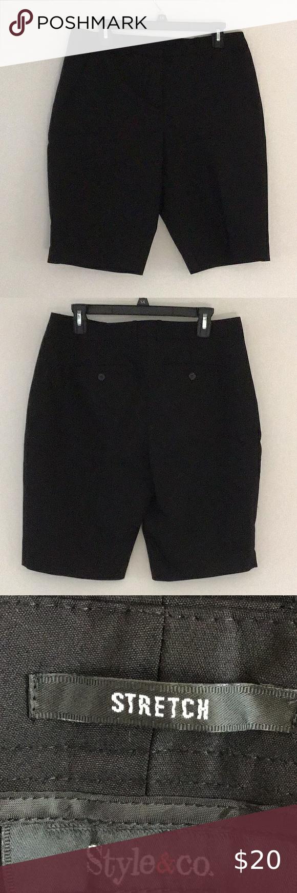 3 For 25 Style Co Black Dress Shorts Size 8 Black Short Dress Style Co Short Dresses [ 1740 x 580 Pixel ]