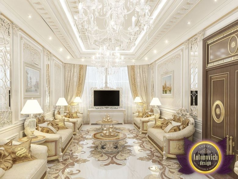 Villa Interior Design In Dubai Saudi Arabia Madina Monaowara Mesmerizing Luxury Living Room Design Decorating Inspiration