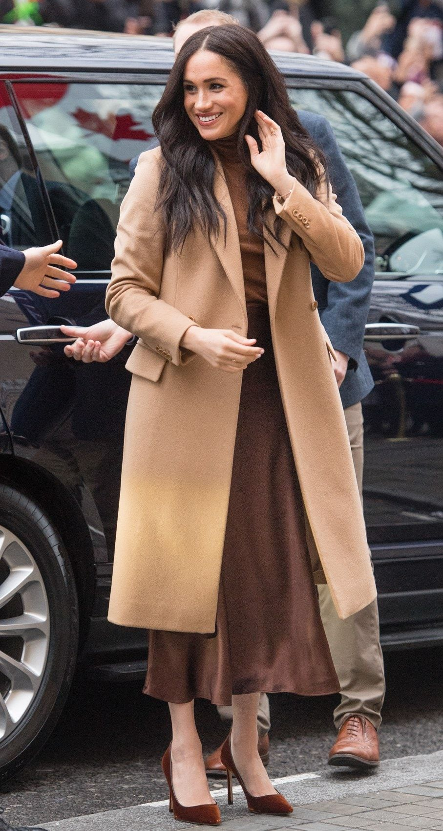 Meghan Markle Steps Out in Winter's Most Unexpected Shoe