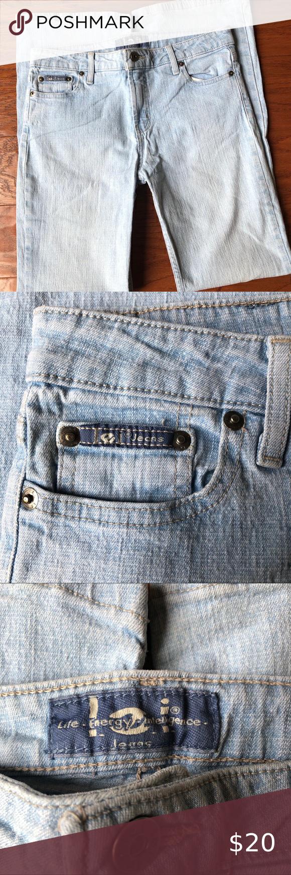 Euc L E I Size 9 Jrs Light Blue Jeans Light Blue Jeans Blue Jeans Clothes Design