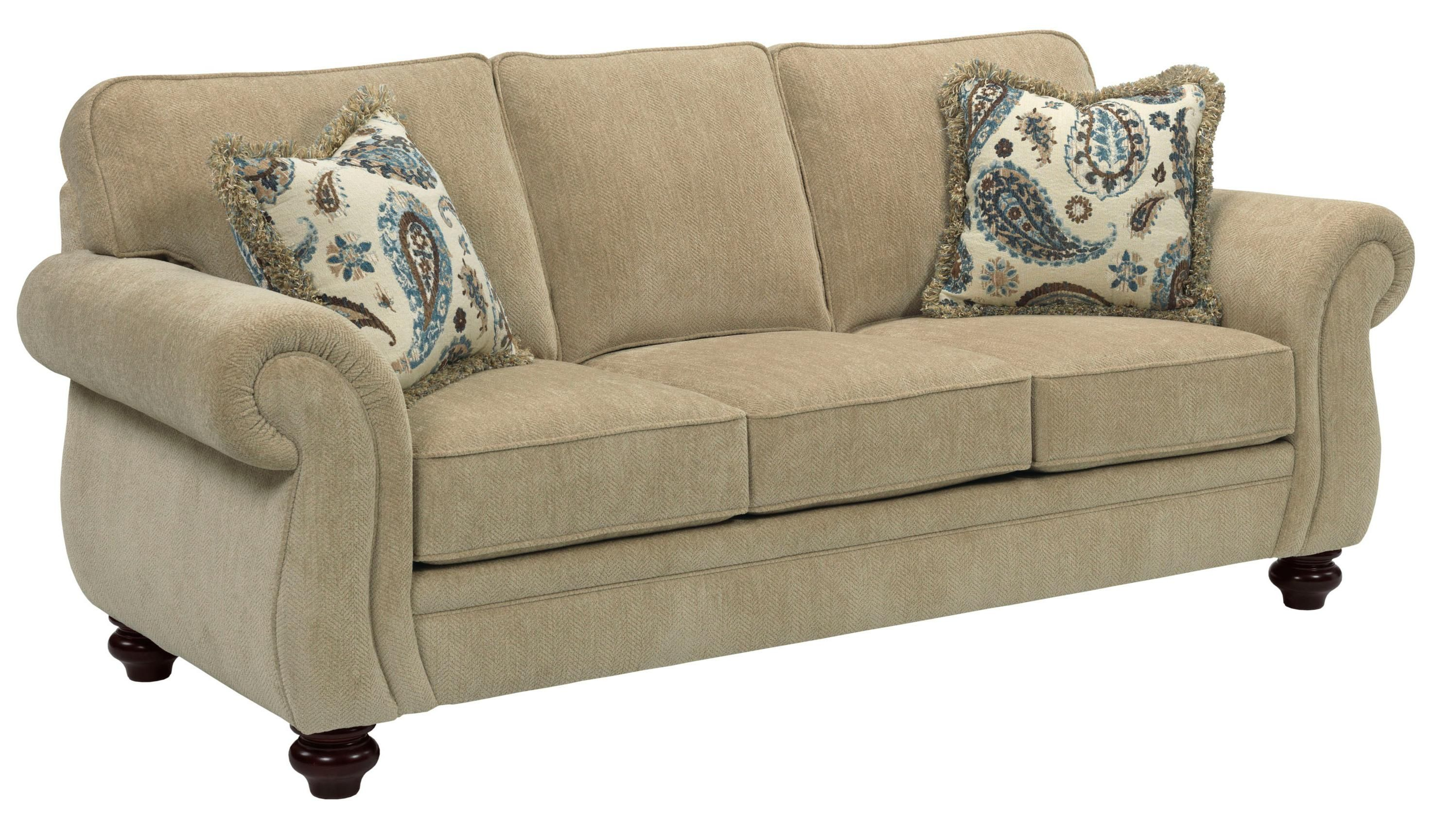 Best Broyhill Furniture Cassandra Traditional Stationary Sofa 400 x 300