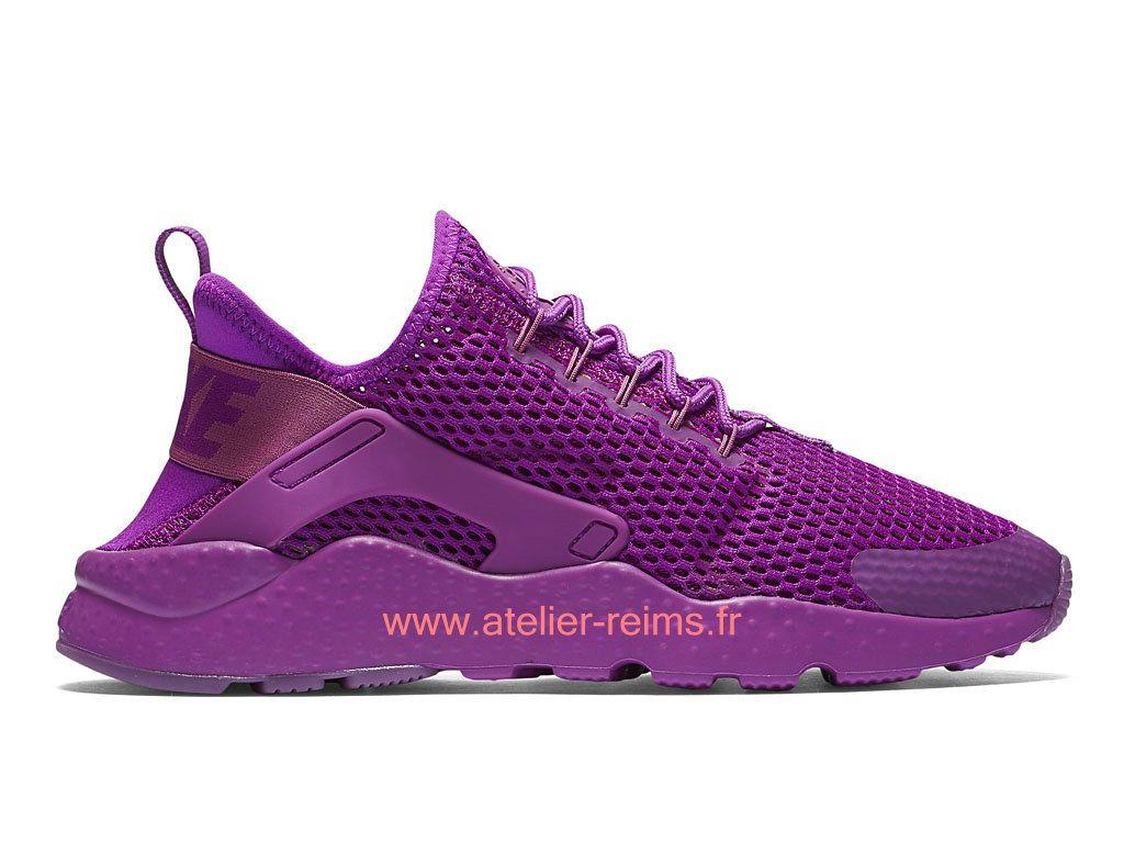 buy popular 831c5 2c60b Nike Wmns Air Huarache Ultra Breathe Boutique Officiel Chaussures Pour  Femme Hyper violet Violette