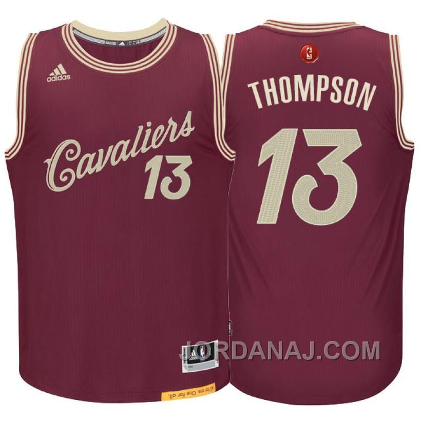 c17b8e90997 Find NBA Season Cleveland Cavaliers Tristan Thompson Christmas Day Red  Jersey Authentic online or in Footseek. Shop Top Brands and the latest  styles NBA ...