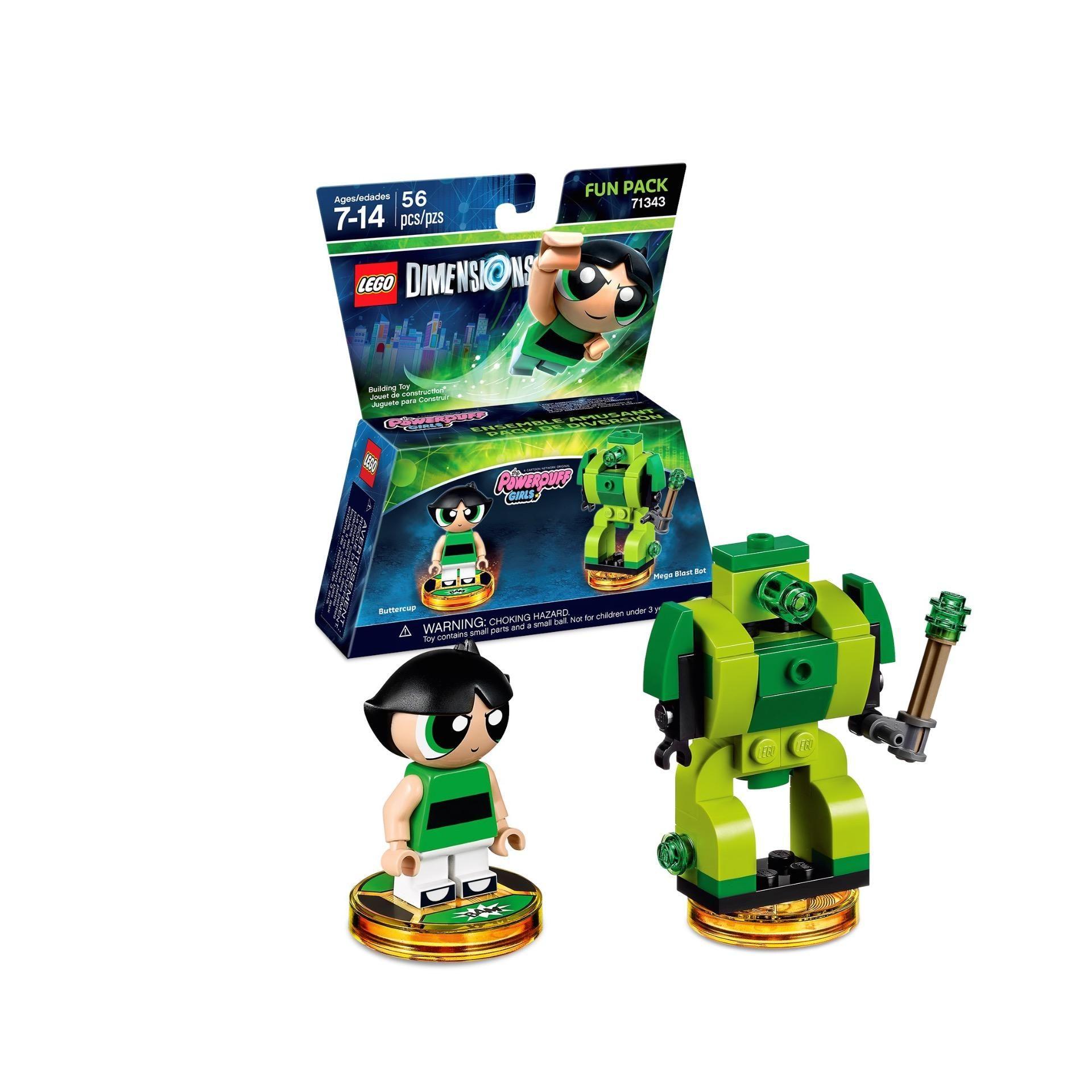The PowerPuff Girls LEGO Dimensions MiniFigure Buttercup 71343