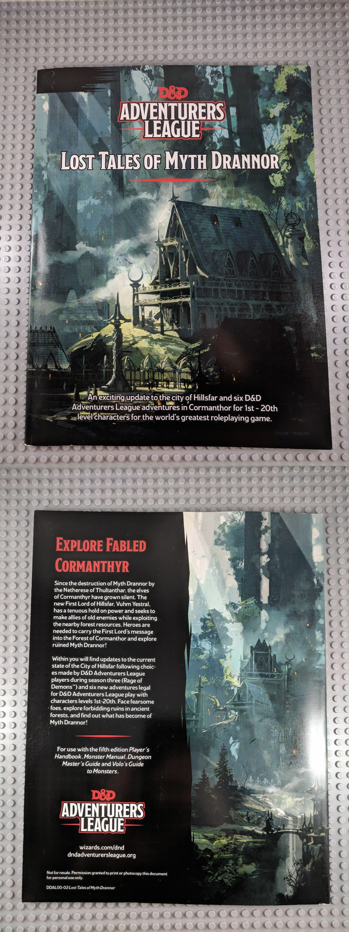 Adventure Modules 44113 Lost Tales Of Myth Drannor Dandd