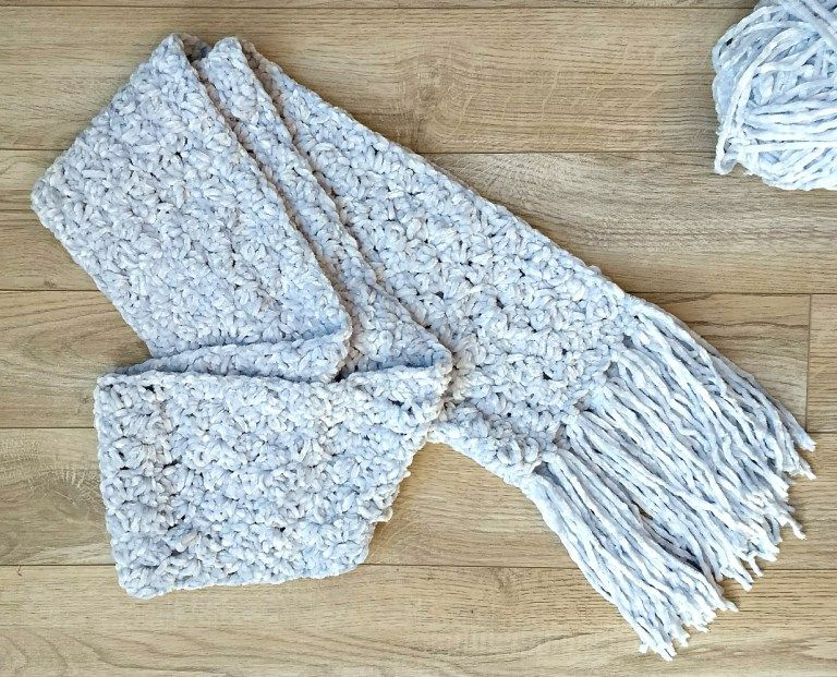 The Hopewell Scarf A Free Beginner Pattern By Croyden Crochet Scarf Crochet Pattern Crochet Scarf Pattern Free Crochet Scarf