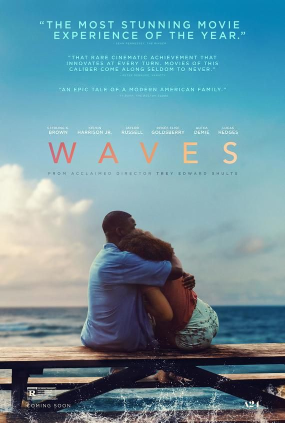 Waves Movie Poster Glossy High Quality Print Photo Wall Art Taylor