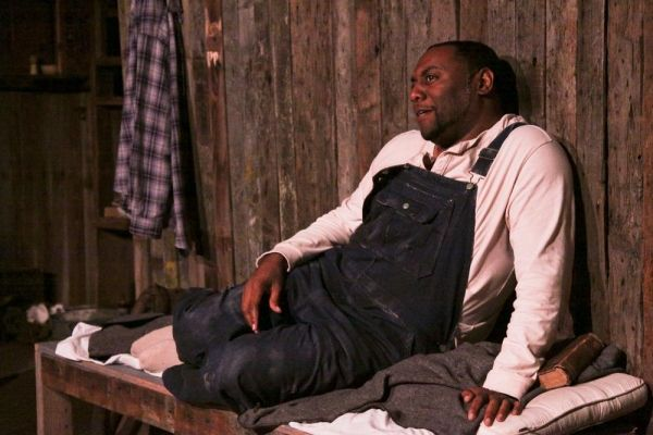 Photo Flash First Look At Cinnabar Theater S Of Mice And Men Opening Tonight Of Mice And Men African American Men Men