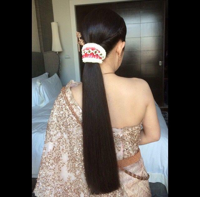 Thai Wedding Hairstyle Cr Nongchat Wedding Gorgeous Hair