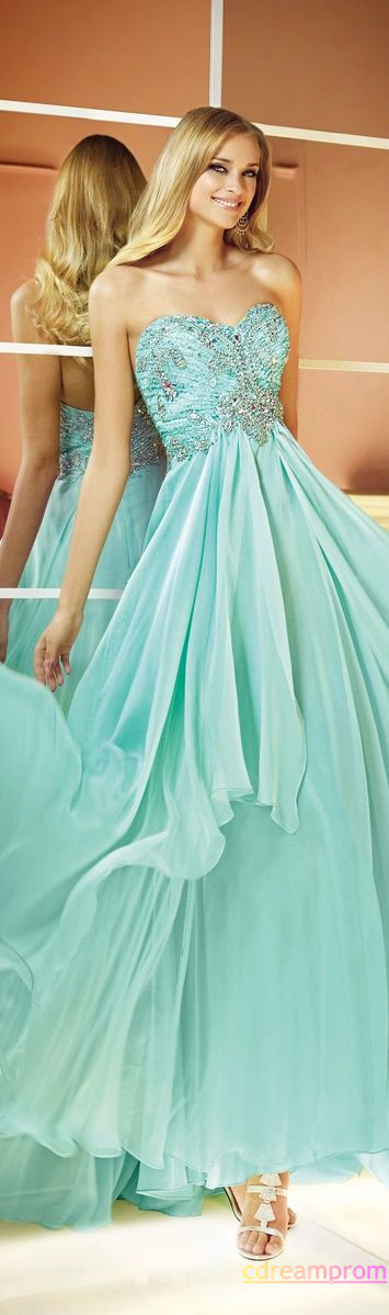 prom dress chiffon dress