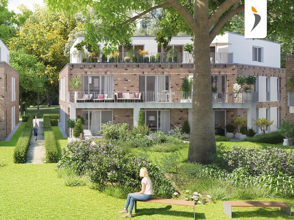 Neubau von 20 Eigentumswohnungen im Neubauprojekt