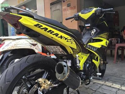 Modifikasi Motor Yamaha Jupiter MX King