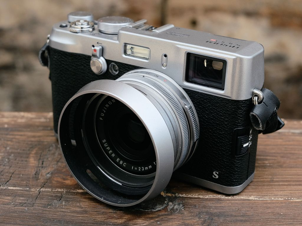 FujiFilm Finepix X100S with standard 23mm lens equivalent to 35mm ...