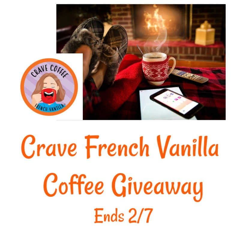Welcome To The Crave French Vanilla Coffee Giveaway 1 Winnerthis Giveaway Is Part Of Our Valentine S Day Gift Gui In 2020 French Vanilla Coffee French Vanilla