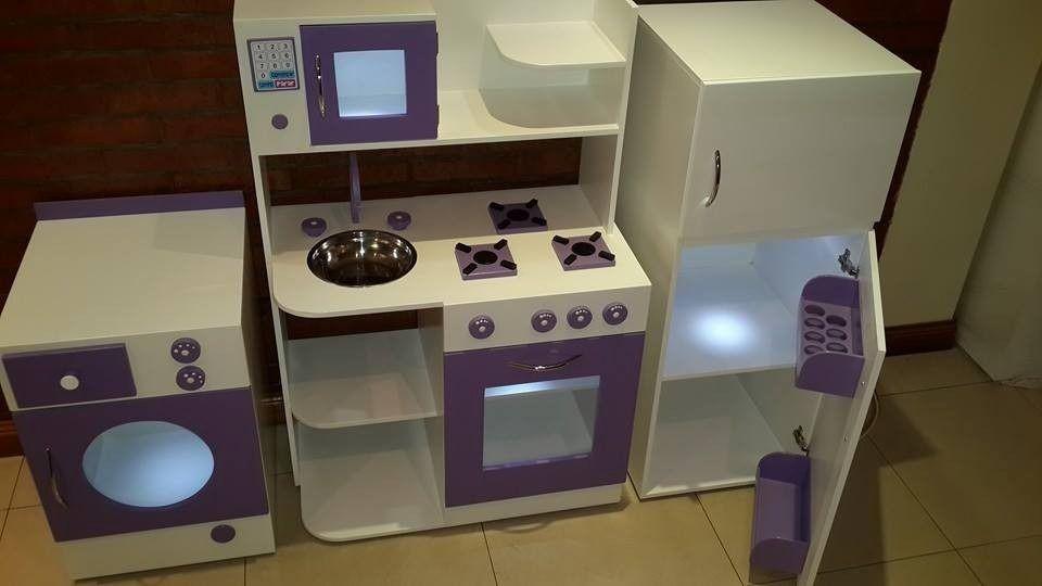 Cocinita Infantil De Juguete Casita Cocina De Madera Fabrica | Ideas ...