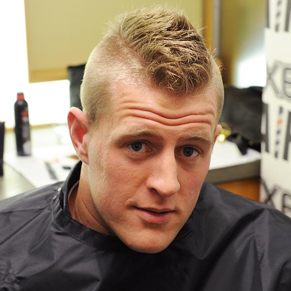Mohawk Jj Watt Mens Hairstyles Axe Hair Products Haircuts For Men