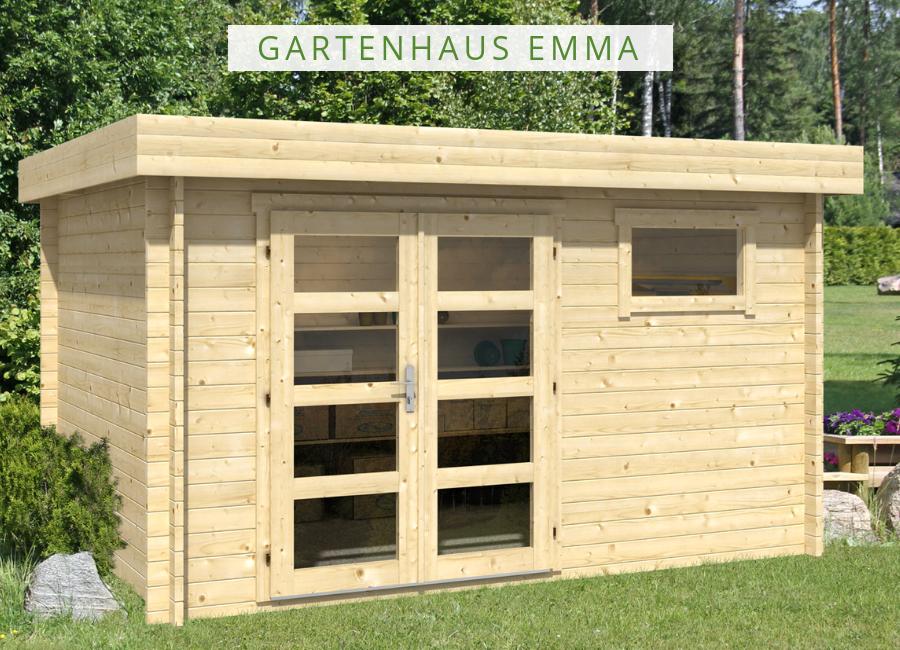 Gartenhaus Modell Emma40 Das moderne HolzGartenhaus mit