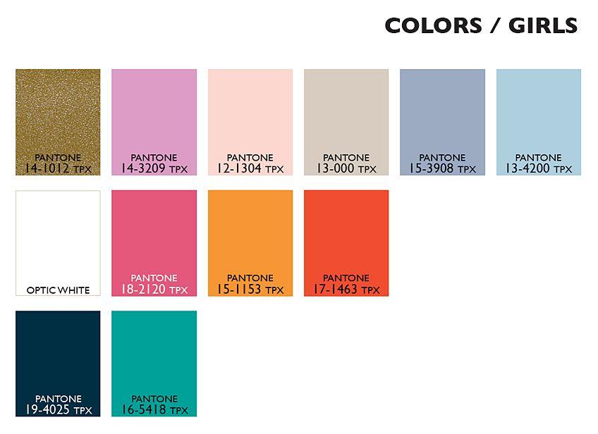 Lenzing Color Trends Spring/Summer 2015