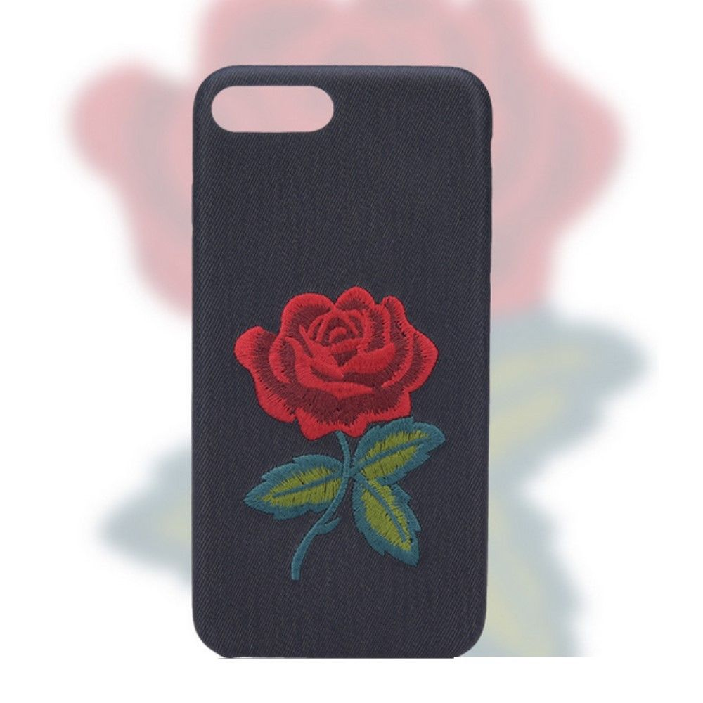 coque avec une rose fleur iphone 6