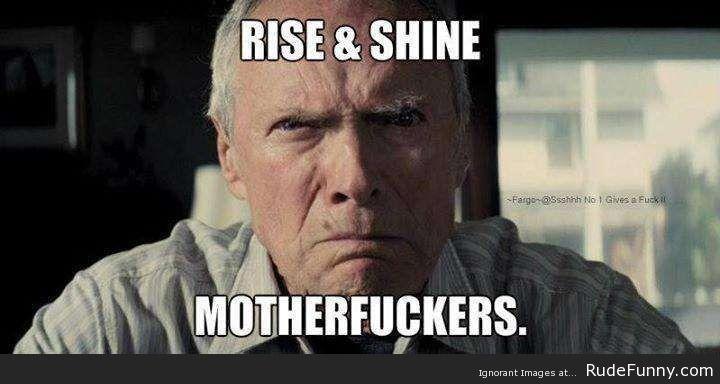 Funny Memes For Good Morning : Good morning rudefunny memes good morning
