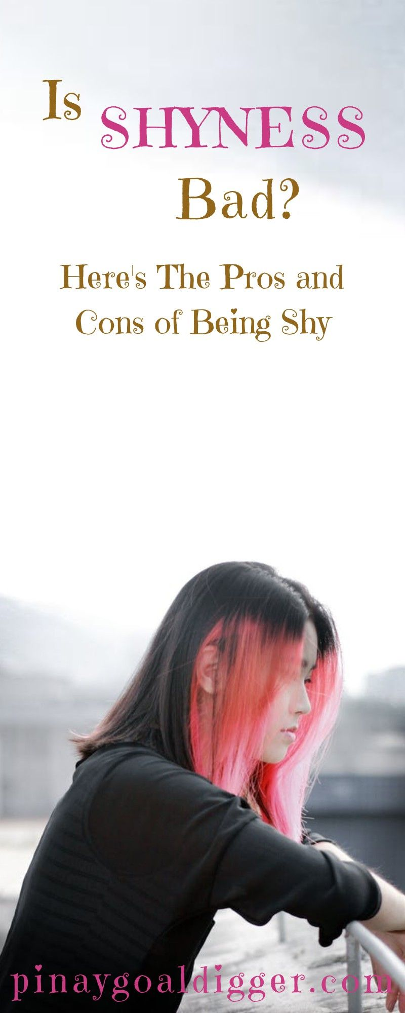 is being shy bad