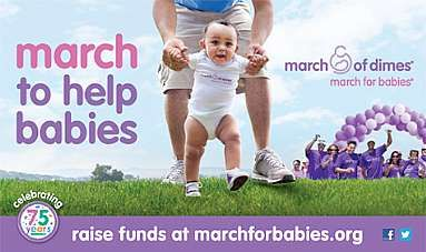 Every day, thousands of babies are born too soon, too small and often very sick. I'm walking in March for Babies because I want to do something about this. And I need your help.    Please support my walk. Making a secure donation is easy: just click the 'donate now' button on this page. Thank you for helping me give all babies a healthy start!