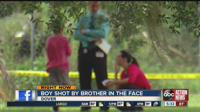 Boy, 9, recovering after brother, 11, shot him - Story | abcactionnews.com | Tampa Bay News, Weather, Sports, Things To Do | WFTS-TV