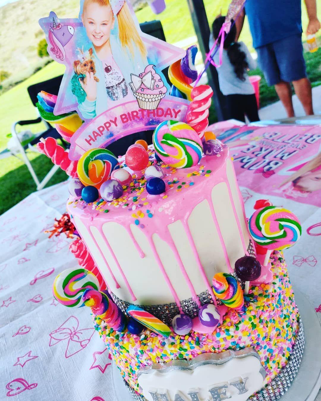 jojo siwa cake design