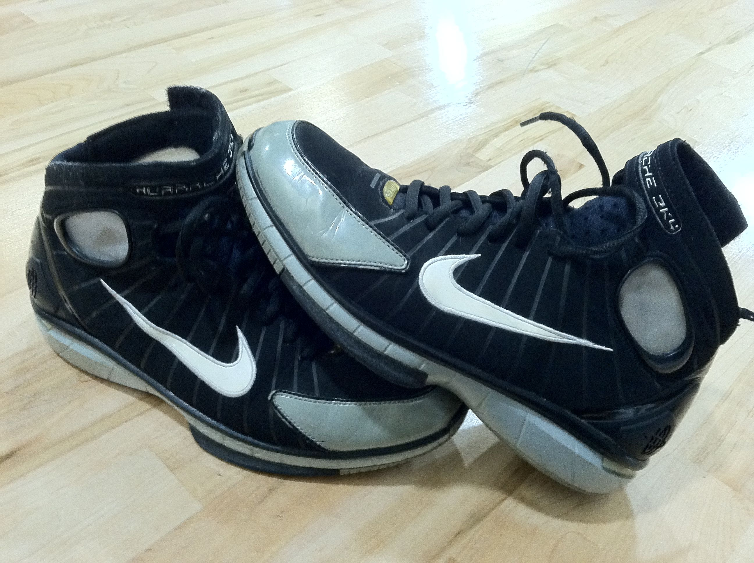 Nike Air Huarache 2K4 2004-2012...Thanks for keeping my ankles and