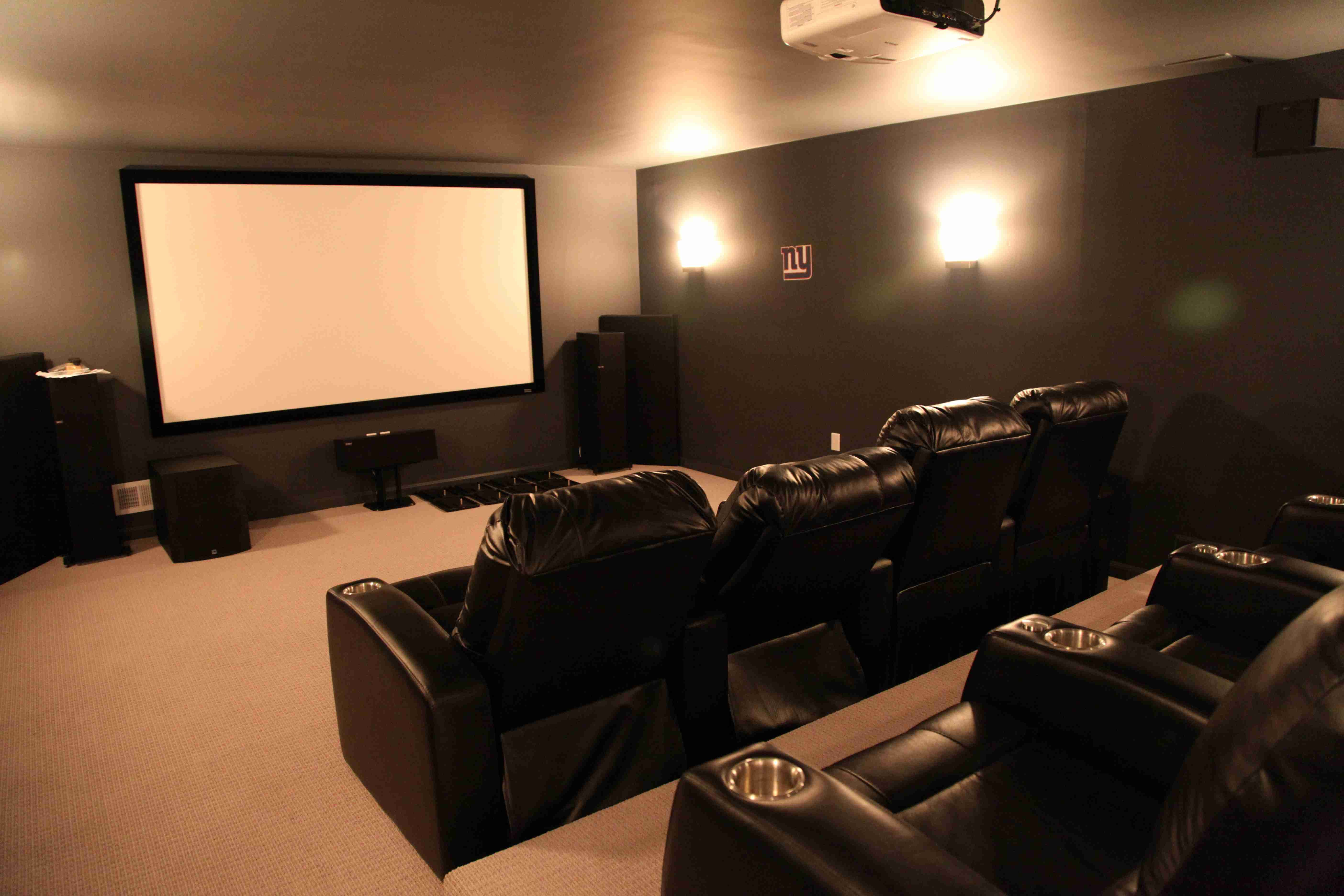 Awesome basement home theater make room for your own cinema tag basement home