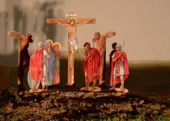 Verklärung Christi- -- Fastenkrippe