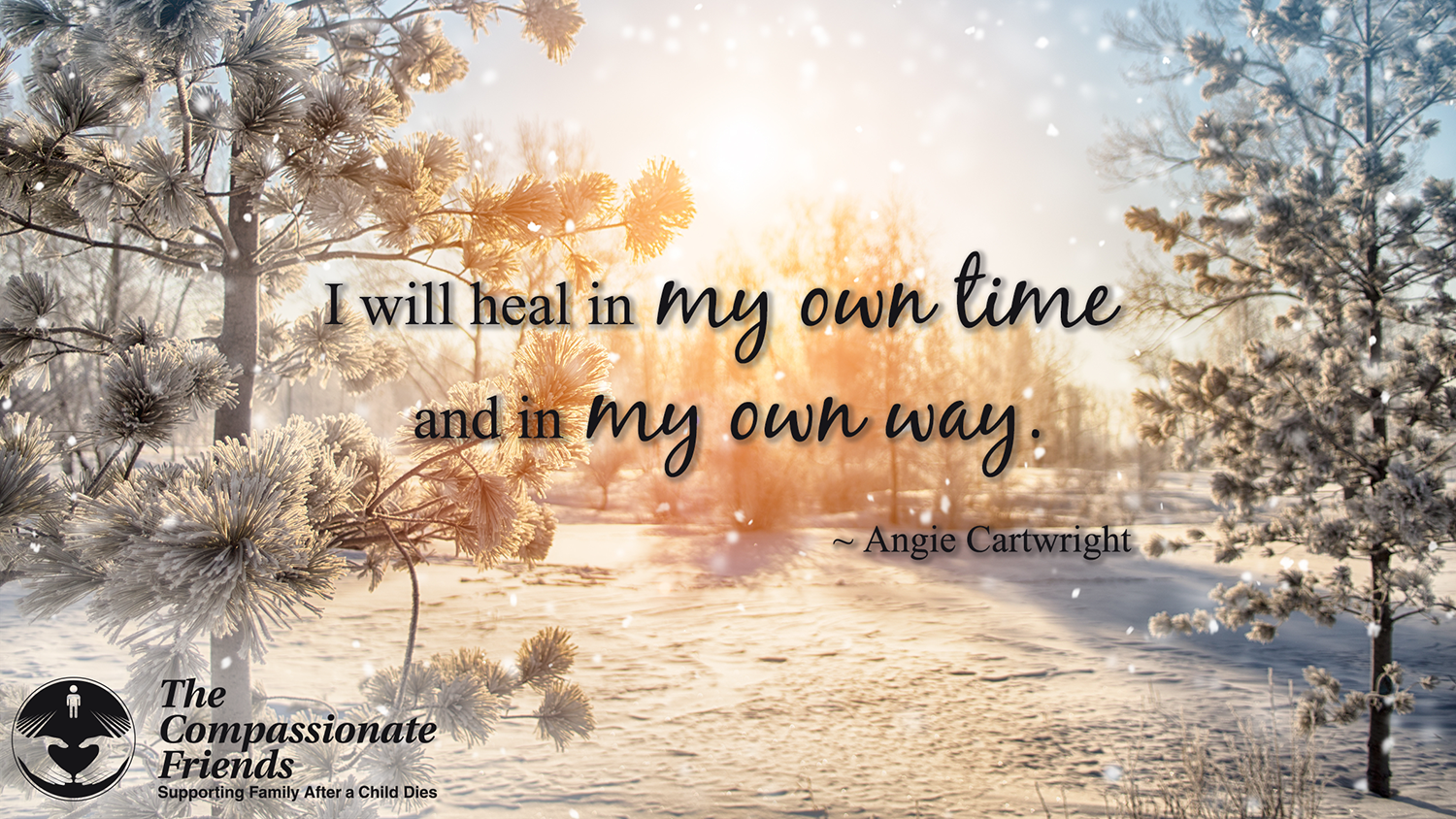Grief Quotes I Will Heal In My Own Time The Compassionate